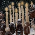Hanukkah. The 8-th Day.