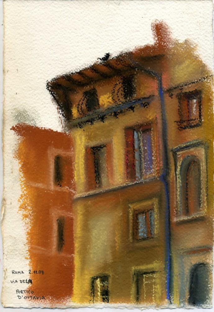 Rome. Jewish quarter