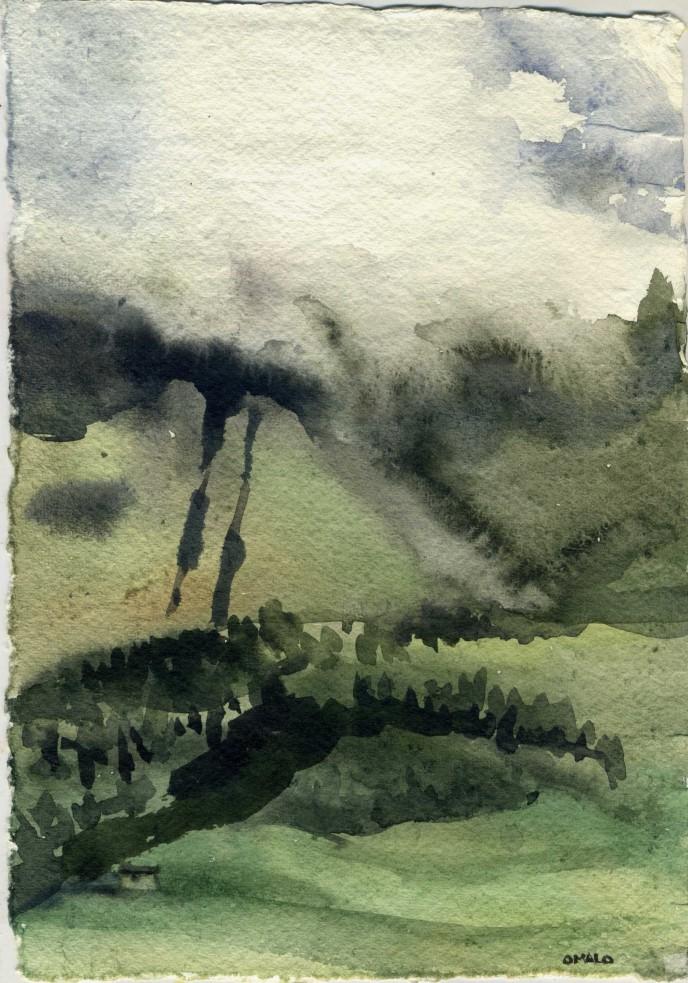 Тушетия. Туман в горах