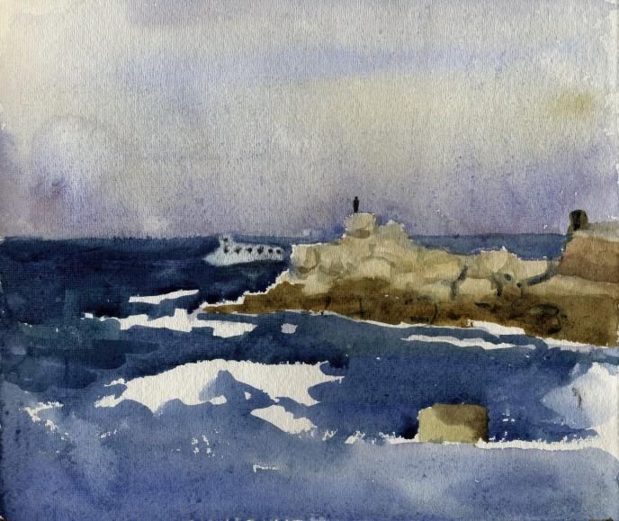 В порту Старого Яффо