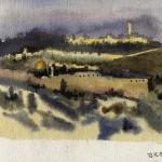 Иерусалим. Вид со смотровой площадки.