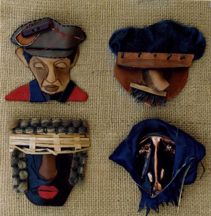 Эскизы еврейских масок