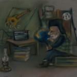"""К сказке """"Глобус и радио"""""""